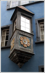 Window, Reichsgasse, Old Town, Chur.