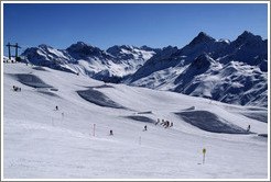 Jakobshorn, a skiing region of the Davos Klosters Mountains.