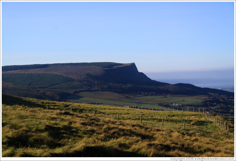 Binevenagh mountain.