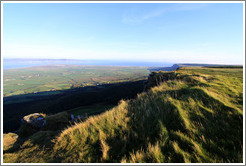 View from Binevenagh mountain.