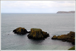 Small islands near Carrick-a-Rede Rope Bridge.