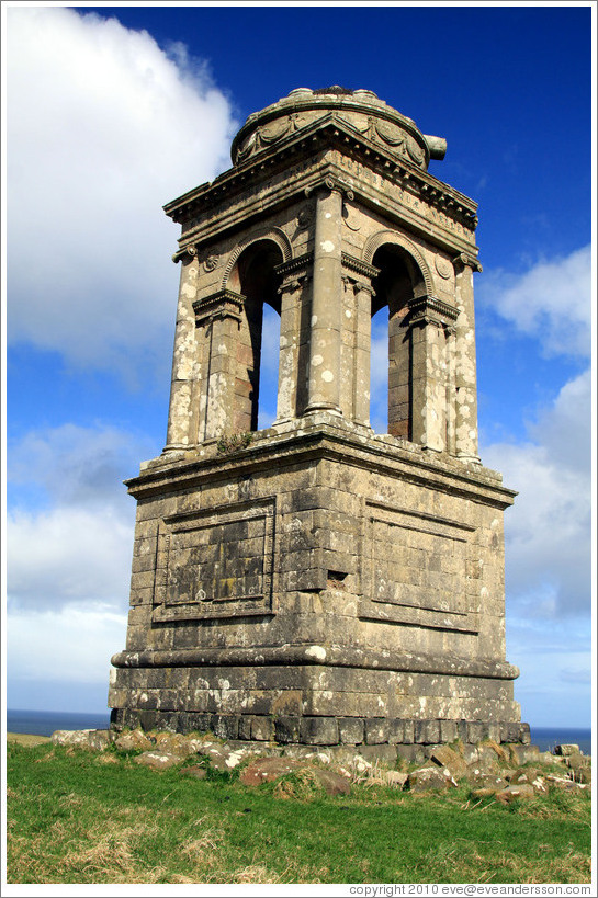 Mausoleum, grounds of the Mussenden Temple.