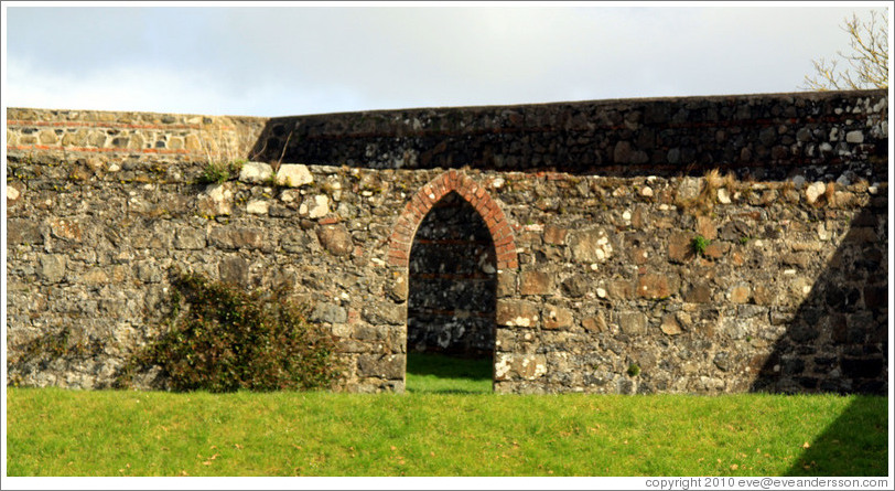 Walled Garden, grounds of the Mussenden Temple.