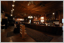 Tasting room.  Concannon Vineyard.