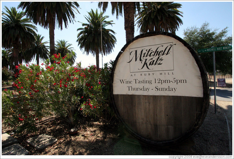 Mitchell Katz Winery.