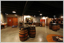 Tasting room.  The Stephen Kent Winery.
