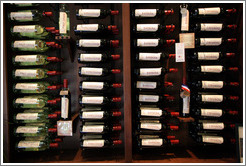 Bottles of wine.  Tamás Estates.