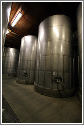 Large lot room.  Wente Vineyards Estate Winery.