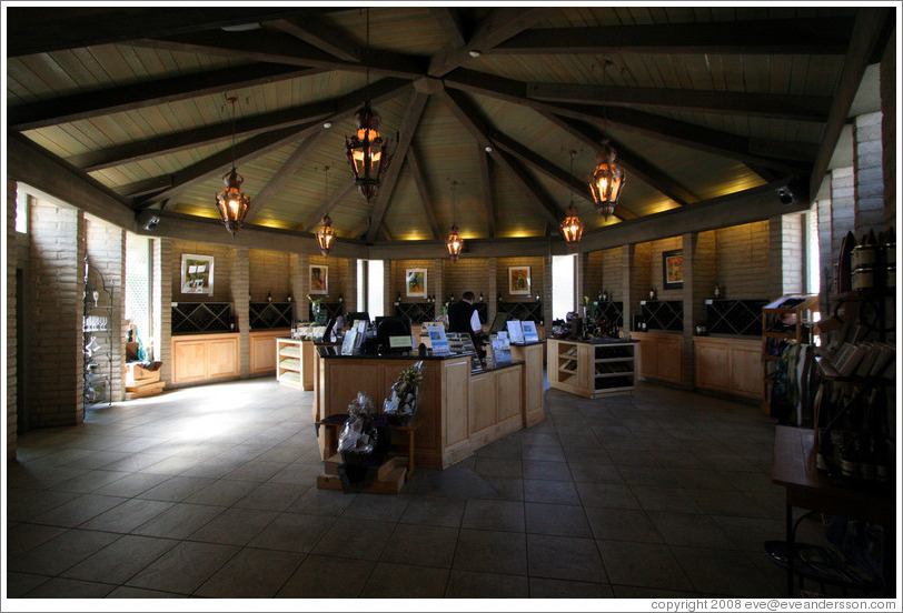 Tasting room.  Wente Vineyards Estate Winery.