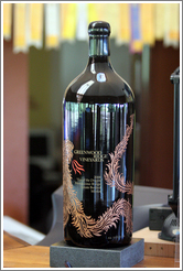 Dragon bottle.  Greenwood Ridge Vineyards.