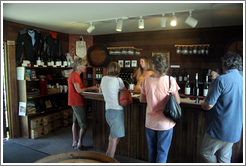 Tasting room.  Husch Vineyards.