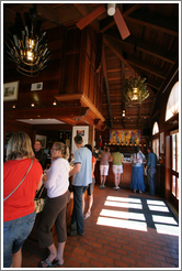 Tasting room.  Navarro Vineyards.