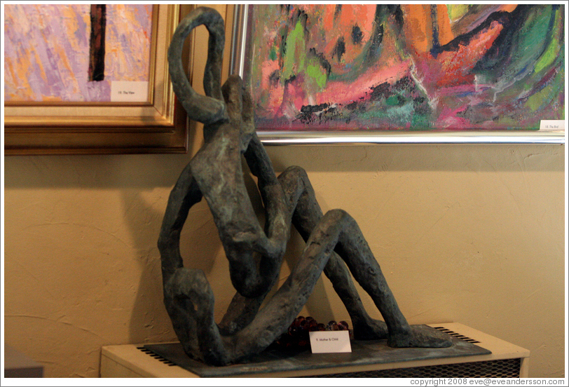 Sculpture by Toby Heller.  Heller Estate.