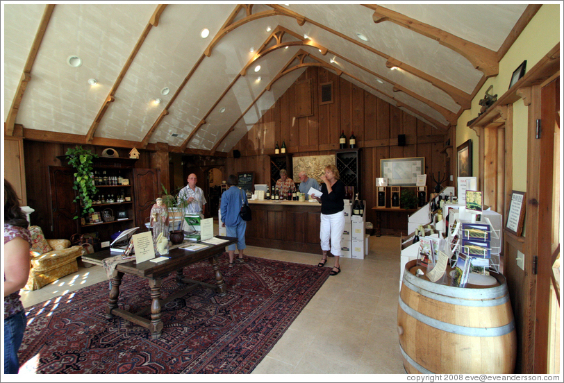 Joullian Vineyards Carmel Valley Village Tasting Room.