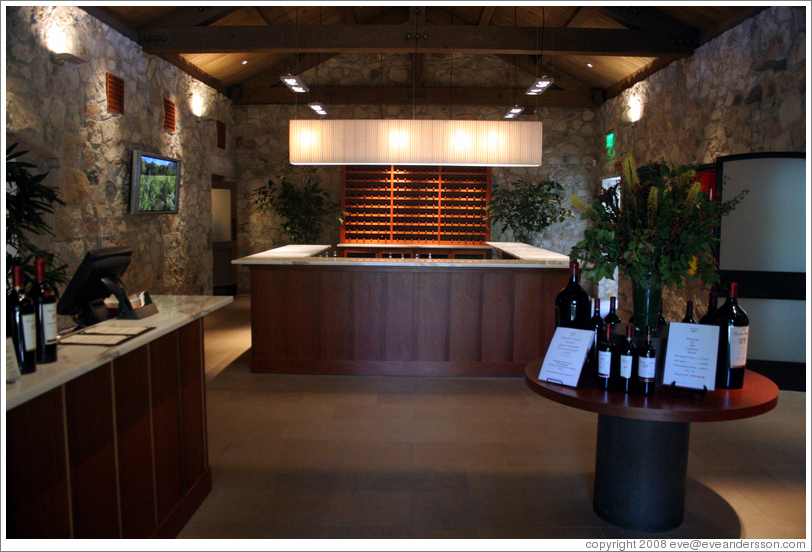 Reserve tasting room.  Beaulieu Vineyard.