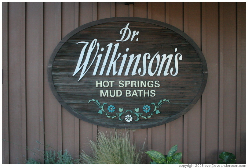Dr. Wilkinson's Hot Springs and Mud Baths.