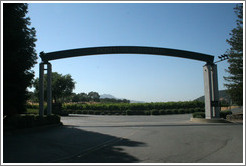 Entrance to Domaine Chandon Winery.