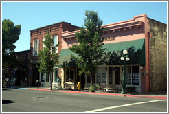 Main St.  Downtown St. Helena.