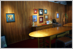 Art gallery.  St. Supéry Winery.