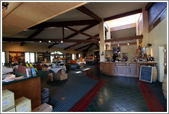 Tasting room.  EOS Estate Winery.