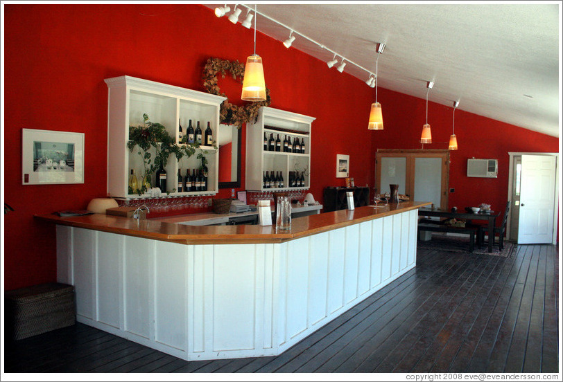 Tasting room.  Minassian-Young Vineyards.