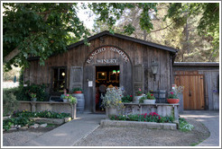 Tasting room.  Rancho Sisquoc Winery.