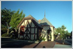 Visitor information center.  Downtown Solvang.