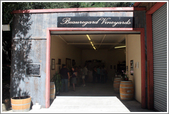 Tasting room.  Beauregard Vineyards.