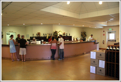Tasting room.  David Bruce Winery.