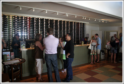 Tasting room.  DeLoach Vineyards.
