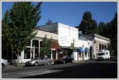 Downtown Healdsburg.