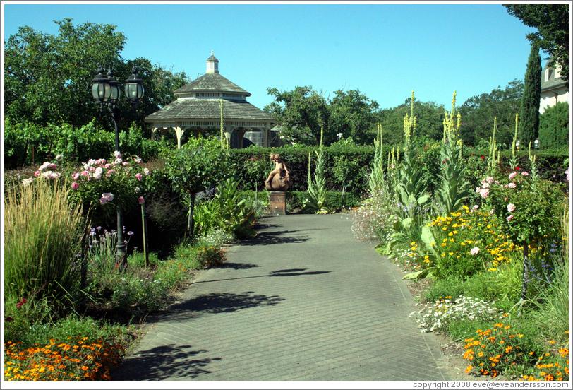 Flower Garden Kendall Jackson Wine Center Photo ID 12831 Fulton