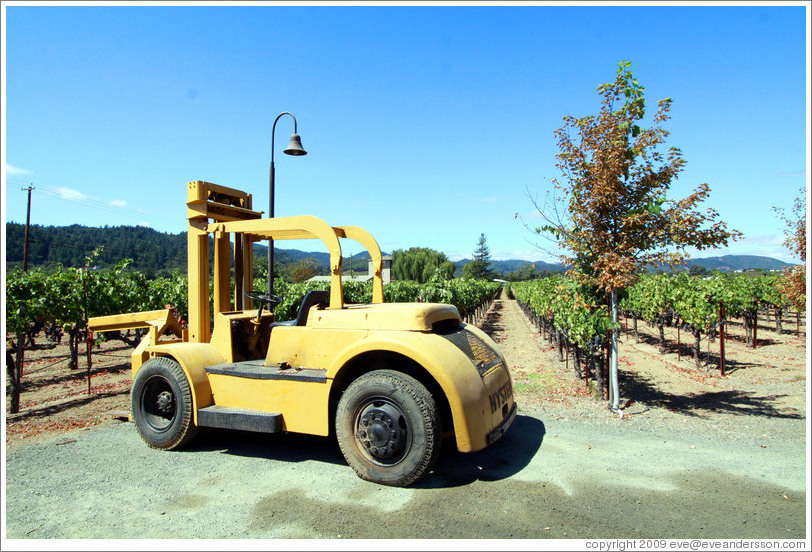 Tractor, Mauritson Wines.