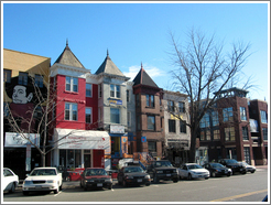 Adams Morgan.  18th Street at Belmont.