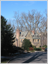Kalorama Circle.  House.