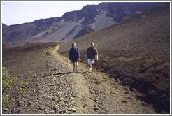 Beth and Jin. Haleakala.
