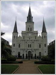 French Quarter.  Cathedral.