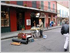 French Quarter. Street performer.