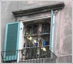 French Quarter. Interesting window.