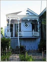 Garden district house.
