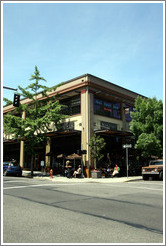 Manzana Restaurant. 12th Ave. and Glisan St., Pearl District.