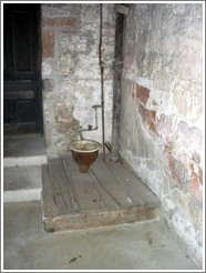 Toilet at Park City jail (used from 1885 to 1964).