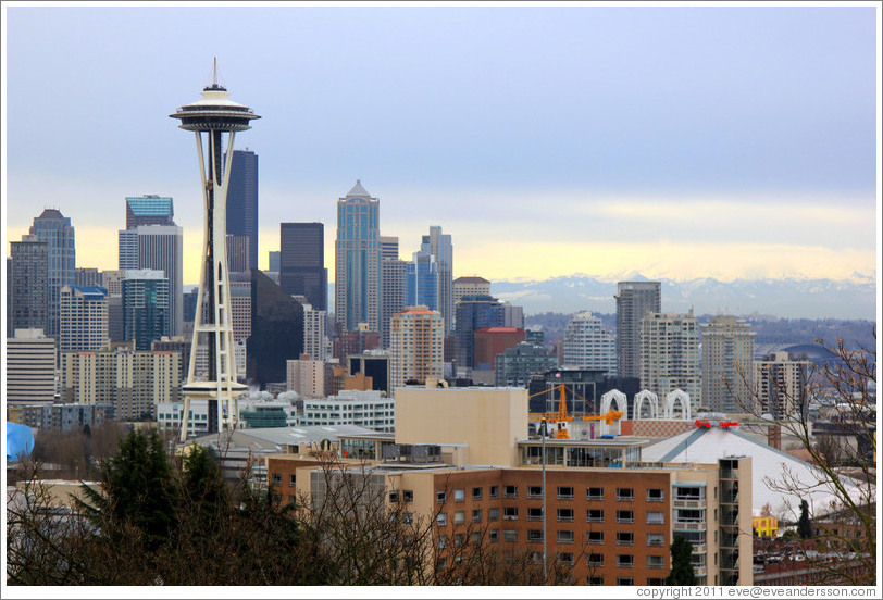 Downtown Seattle, viewed from Kerry Park.