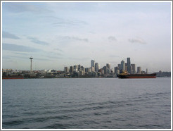 Downtown Seattle, as viewed from a Harbor Cruise in Elliott Bay.