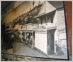 Seattle Underground Tour.  Photo of 19th century downtown Seattle.