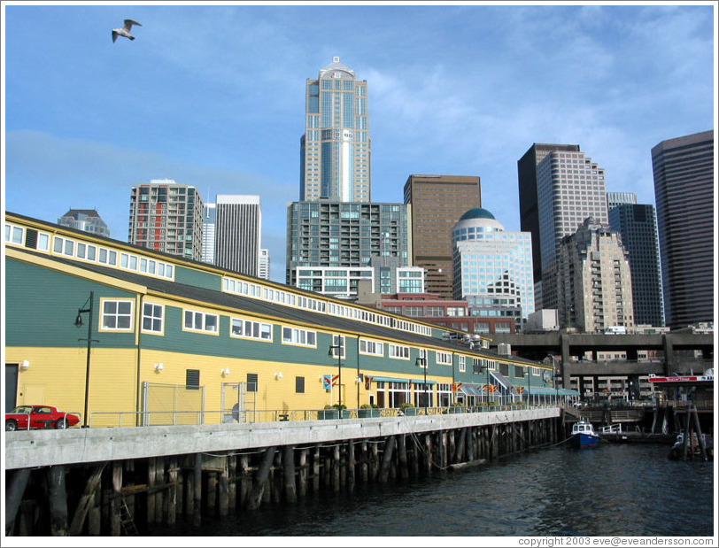Pier 56, Seattle Waterfront.
